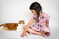 Detské oblečenie - Šaty Srnka - 9785666_