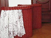 Košíky - KOŠE - Červenohnedé - 9785978_
