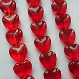 Korálky - Sklenené srdce-1ks - 9786209_