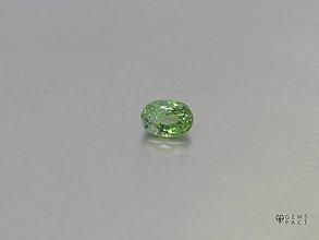 Minerály - DÉMANTOID prírodný ovál 4,1 x 5,8 mm - 9784998_