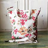 Veľké tašky - Šípová plátenná shopperka - 9785145_