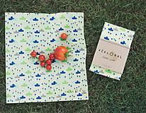 Nezaradené - BIO bavlna Sir Rožok 24 x 26 cm (Obláčiky) - 9784838_