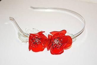 Iné šperky - vlčie maky na čelenke - 9784640_
