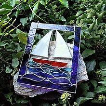 Dekorácie - Na obzoru plachta bílá - 9788908_