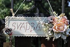 Tabuľky - Svadobná tabuľka - 9786917_