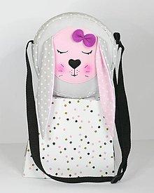 Detské tašky - KABELKA so zajačicou - 9786548_