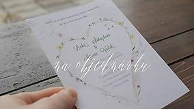 Papiernictvo - Svadobný balík na zákazku - 9786571_