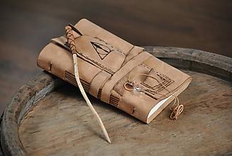 Papiernictvo - kožený zápisník DARY SMRTI - 9788808_