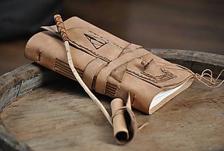 Papiernictvo - kožený zápisník DARY SMRTI - 9788809_