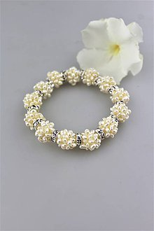 Náramky - perlový náramok luxusný - 9788769_