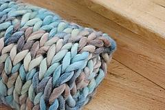 Úžitkový textil - Chunky deka