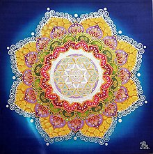 Obrazy - Mandala...Harmónia sily a rozhodnosti - 9789424_