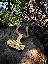 Náhrdelníky - Thorovo kladivo veľké II., bronz - 9788422_