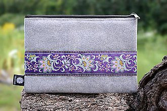 Taštičky - Taštička VINITHA Purple Flowers - 9789178_