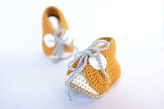 Topánočky - papučky na šnurovanie - 9788288_