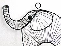 Dekorácie - Slon - 9787145_