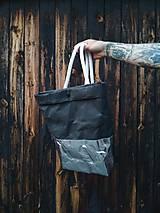 Batohy - Papierový batoh // black silver - 9787300_