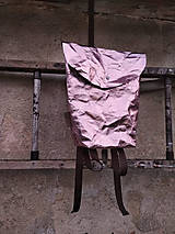Batohy - Papierový batoh // holographic pink - 9787796_