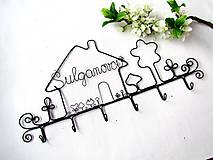 Nábytok - ku svadbe.... osobný vešiak  (30 - 31 cm) - 9788445_