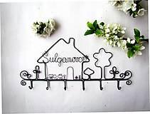 Nábytok - ku svadbe.... osobný vešiak  (30 - 31 cm) - 9788446_