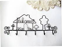 Nábytok - ku svadbe.... osobný vešiak  (30 - 31 cm) - 9788447_