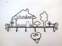 Nábytok - ku svadbe.... osobný vešiak  (30 - 31 cm) - 9788448_
