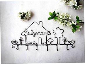 Nábytok - ku svadbe.... osobný vešiak - 9788446_