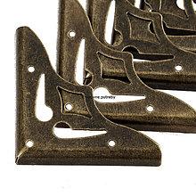 Polotovary - Kovový roh bronzový - 9788721_