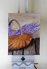 Obrazy - Košík kvetov Rezervovaný - 9791272_