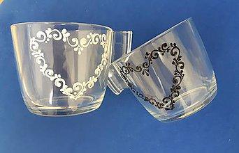 Nádoby - Love cofee cups (Modrá) - 9791116_