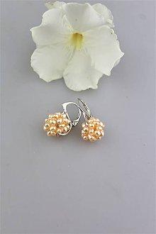 Náušnice - perly náušnice v striebre-pravá perla - 9791956_