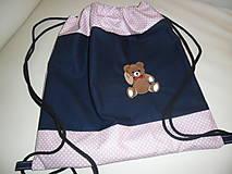 Detské tašky - Batôžtek s mackom. - 9792383_