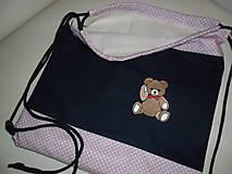 Detské tašky - Batôžtek s mackom. - 9792384_