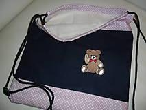 Detské tašky - Batôžtek s mackom. - 9792385_