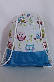 Detské tašky - Detský batoh-sovička - 9791587_