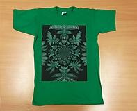 Detské oblečenie - Detské tričko (153-164 - Zelená) - 9790911_