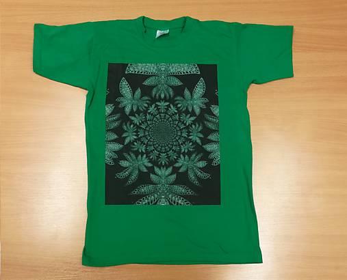 Detské tričko (153-164 - Zelená)