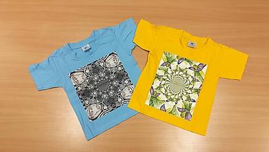 Detské oblečenie - Detské tričko (86-92 - Žltá) - 9790900_