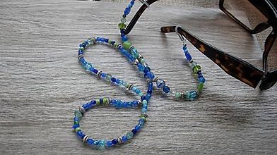 Iné šperky - Šnúrka/retiazka na okuliare ozdobná (sklenené korálky č.2239) - 9791621_