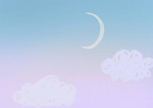 Grafika - Východ Mesiaca - 9792094_