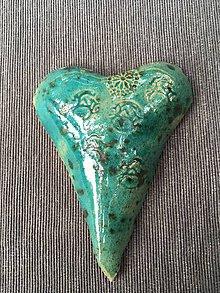 Dekorácie - Malé srdce - India - 9791767_