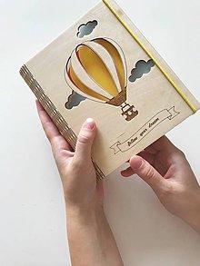 Darčekové poukážky - Drevený zápisník