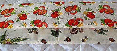Textil - Látky tekvice a huby - 9789852_