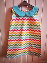 Detské oblečenie -  Cik cak šaty  - 9792767_