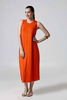 Šaty - Šaty Midi voľné - 9792805_
