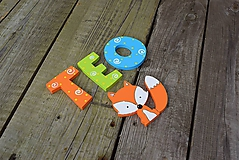 Tabuľky - drevené písmenká - 9794451_