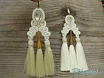 Náušnice - Tassels collection...soutache - 9794667_