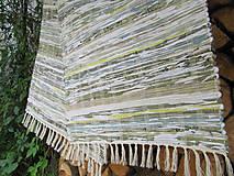 koberec tkaný ,,Hráškový,, 70x 200cm