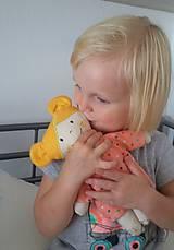 Hračky - textilná bábika  - Karolka - 9795775_