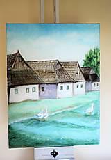 Obrazy - Ľudová architektúra - 9793391_